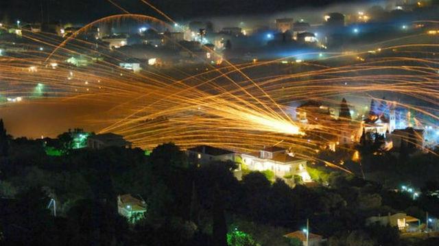 Ρουκετοπόλεμος Χίος