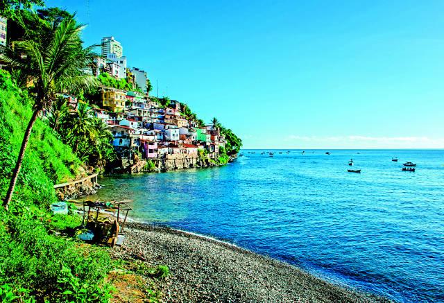Σαλβαδόρ Μπαΐα Βραζιλία, ακτές