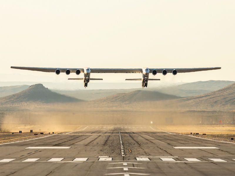 Stratolaunch: Το μεγαλύτερο αεροπλάνο στον κόσμο