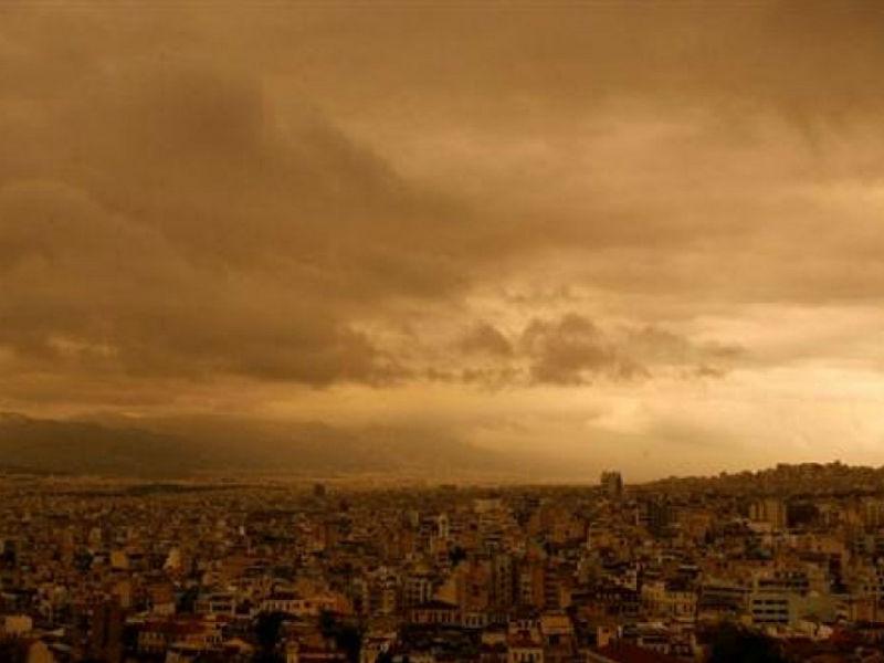 Καιρός: Η αφρικανική σκόνη θα «πνίξει» την χώρα τη Μ. Τετάρτη!