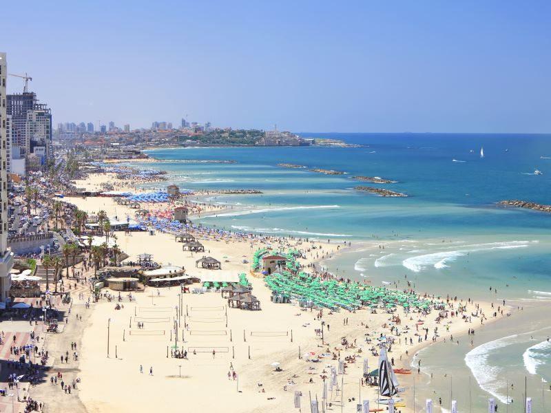 Τελ Αβίβ βόλτα στην παραλία