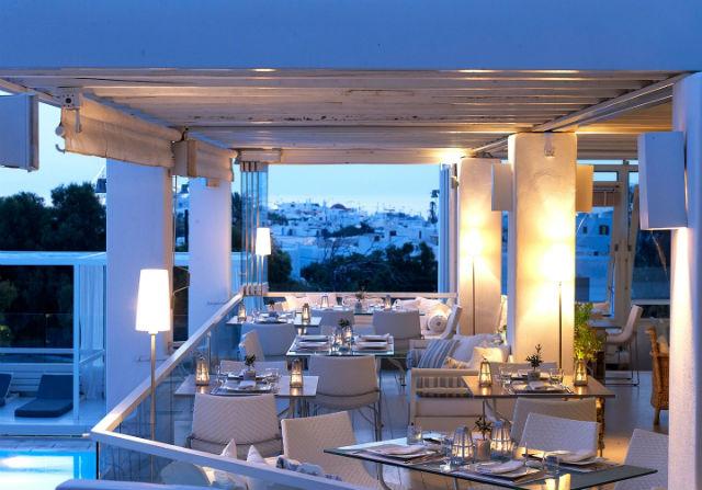 Thioni Restaurant, Semeli Hotel, Μύκονος
