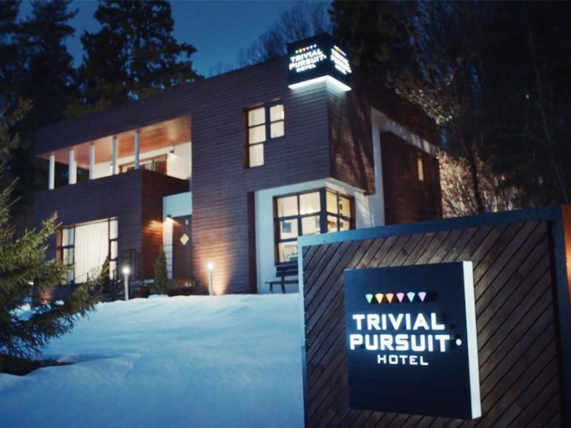 Trivial Pursuit Hotel: Σε αυτό το ξενοδοχείο πληρώνεις με τις γνώσεις σου!