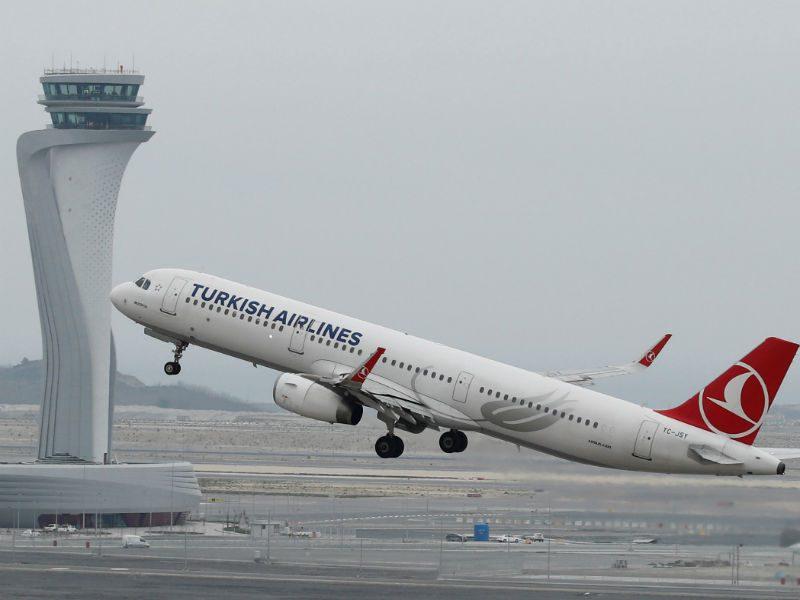 Turkish Airlines στο νέο αεροδρόμιο της Κωνσταντινούπολης