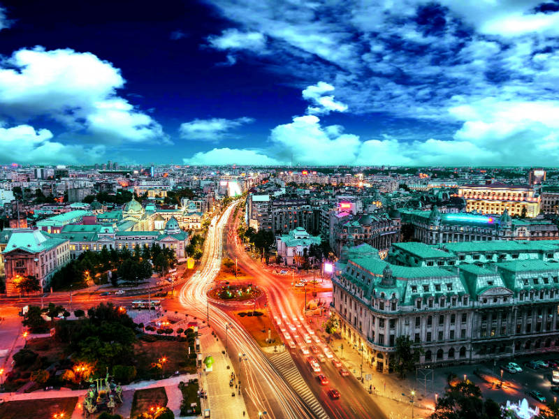 Βουκουρέστι οδηγός, μια μεγαλούπολη με πολύ κίνηση
