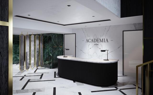 Academia of Athens lobby