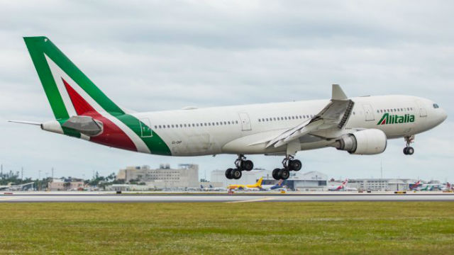 Alitalia αεροσκάφος