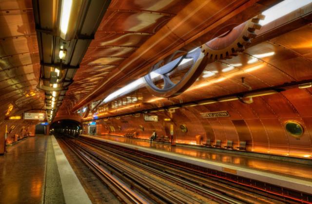 Arts Et Métiers Station, Παρίσι, Γαλλία