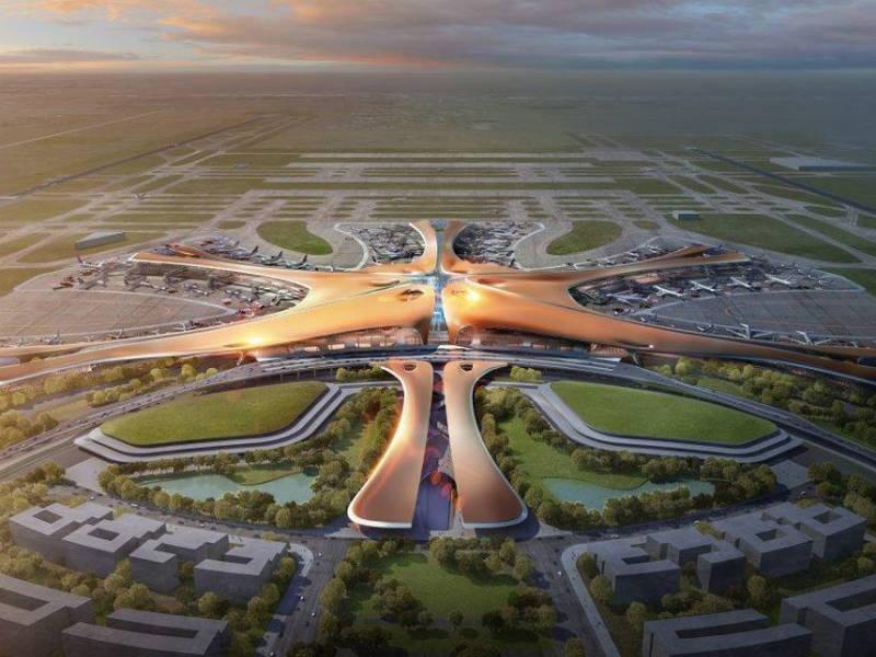 Νέο αεροδρόμιο Πεκίνου (Beijing Daxing airport)