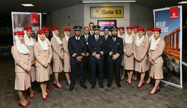 Emirates πλήρωμα καμπίνας (Cabin Crew)