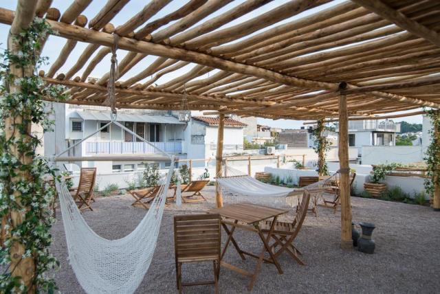 Ederlezi Boutique Hotel - νέο ξενοδοχείο Ψυρρή - roof garden