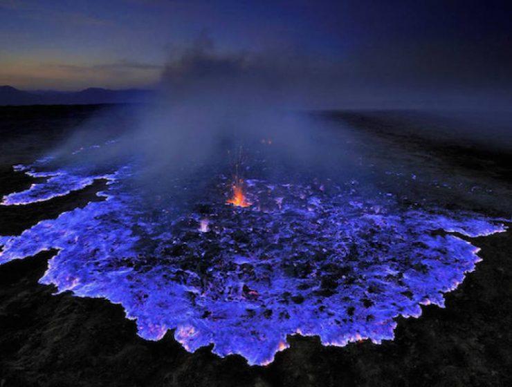 Kawah Ijen - Το ηφαίστειο με τη μπλε λάβα