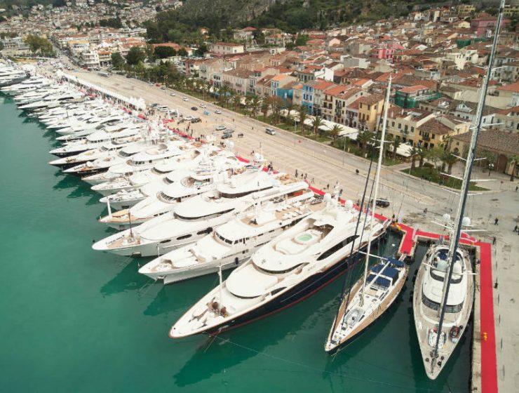 6ο Mediterranean Yacht Show, γιοτ Ναύπλιο
