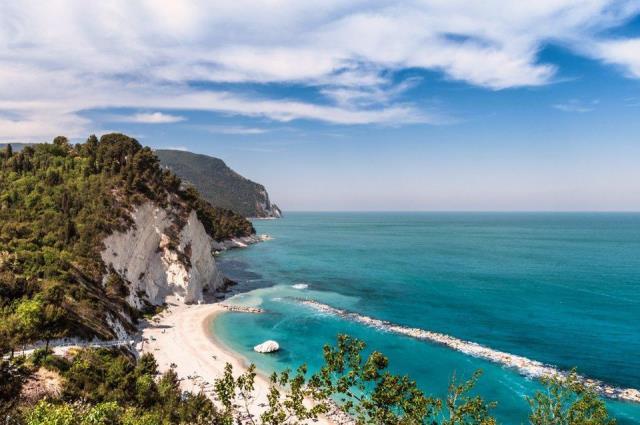 Numana Alta Beach, Ιταλία