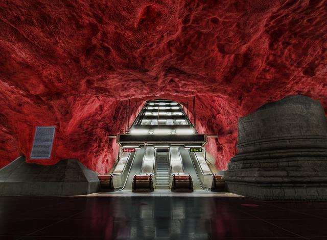 Rådhuset Station, Στοκχόλμη, Σουηδία
