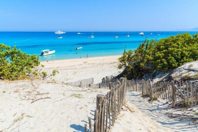 Saleccia Beach, Κορσική- Γαλλία