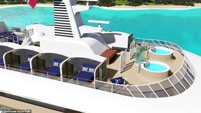 SeaDream Innovation mega yacht