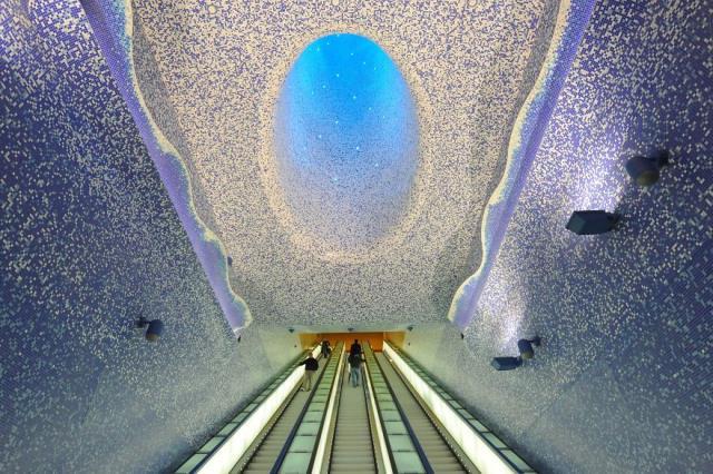 Toledo Metro Station, Νάπολη, Ιταλία