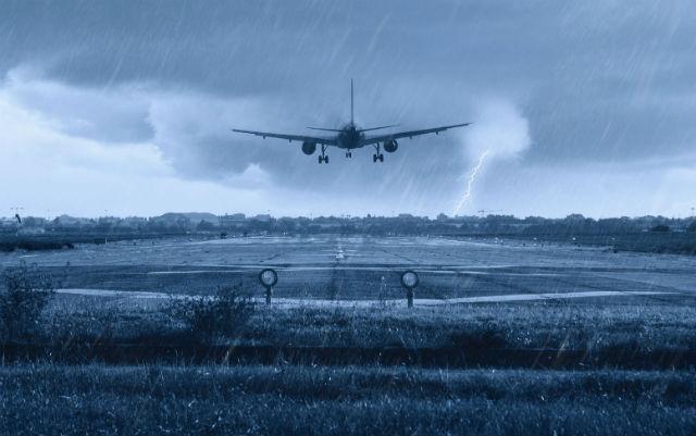 Αεροπλάνο - αναταράξεις και κακός καιρός