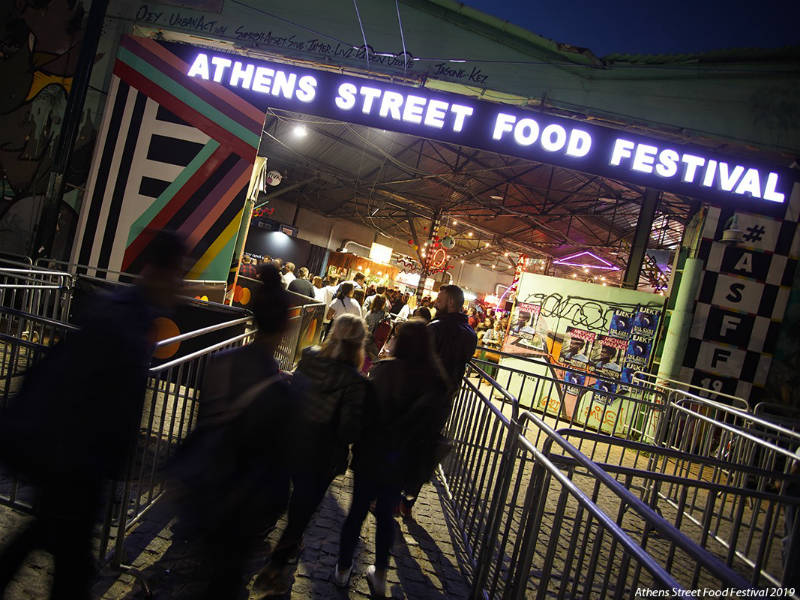 Athens Street Food Festival 2019 - Αθήνα, Γκάζι