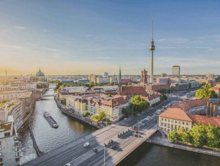 Βερολίνο, Γερμανία - ταξίδι