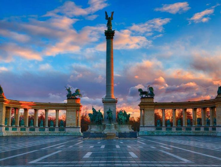 Πλατεία Ηρώων Βουδαπέστη