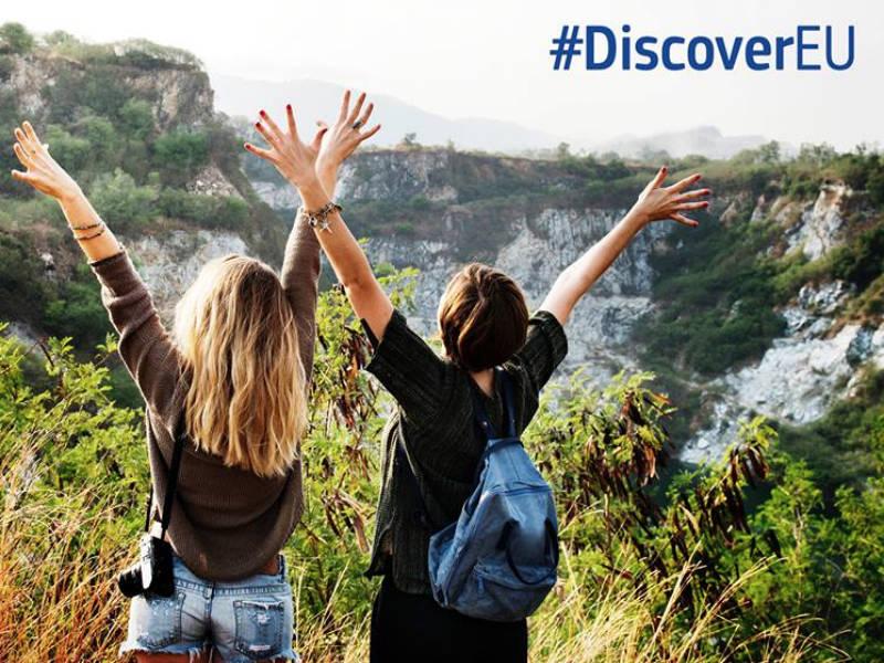 DiscoverEU: Δωρεάν ταξίδια στην Ευρώπη