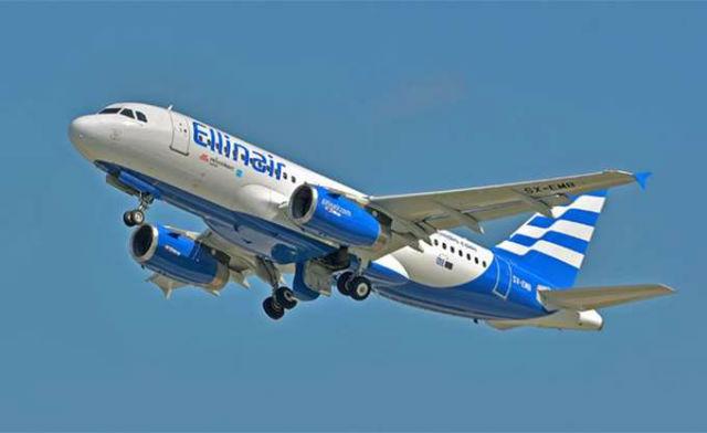 Ellinair - αεροσκάφος
