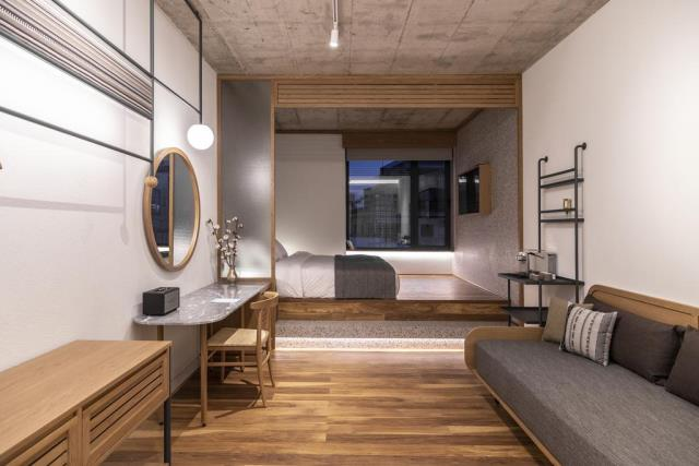 Ergon House Αθήνα - δωμάτια