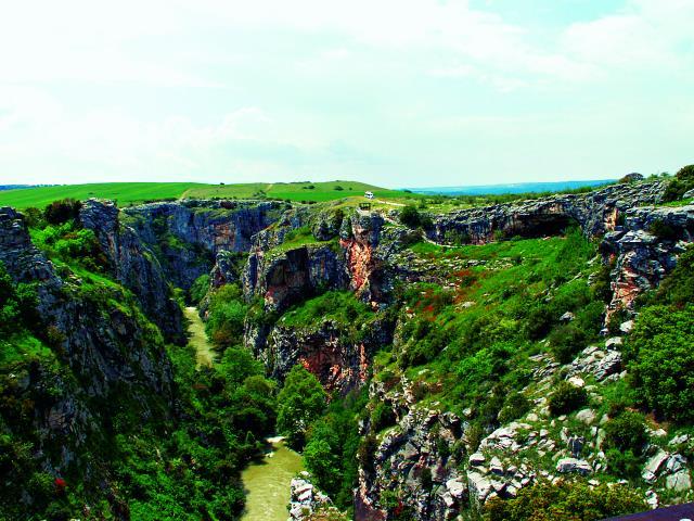 Φαράγγι του ποταμού Αγγίτη, Σέρρες