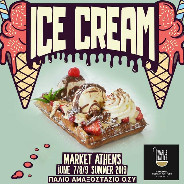 Ice Cream Market Athens 2019 - Waffle Batter