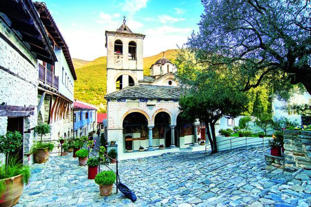 Ιερά Μονή Τιμίου Προδρόμου, Σέρρες