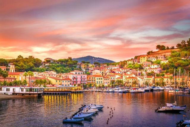 Ιταλικό νησί Elba
