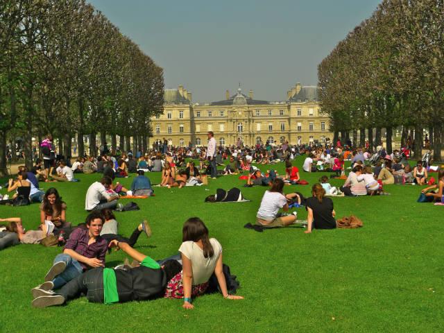 Κήπος του Λουξεμβούργου στο Παρίσι