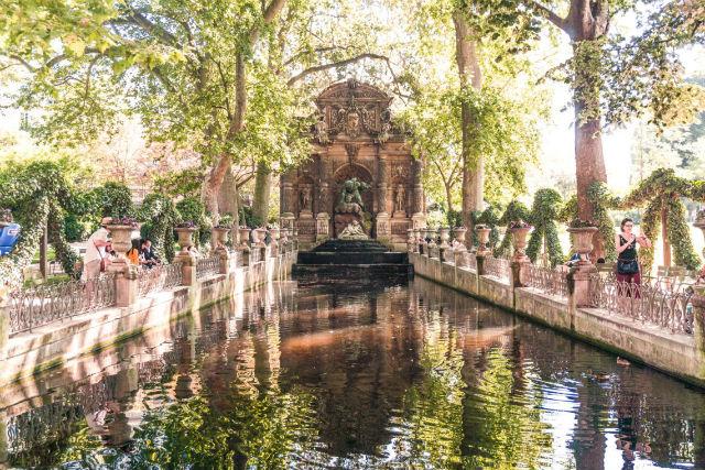 Συντριβάνι Medici - Κήποι του Λουξεμβούργου Παρίσι