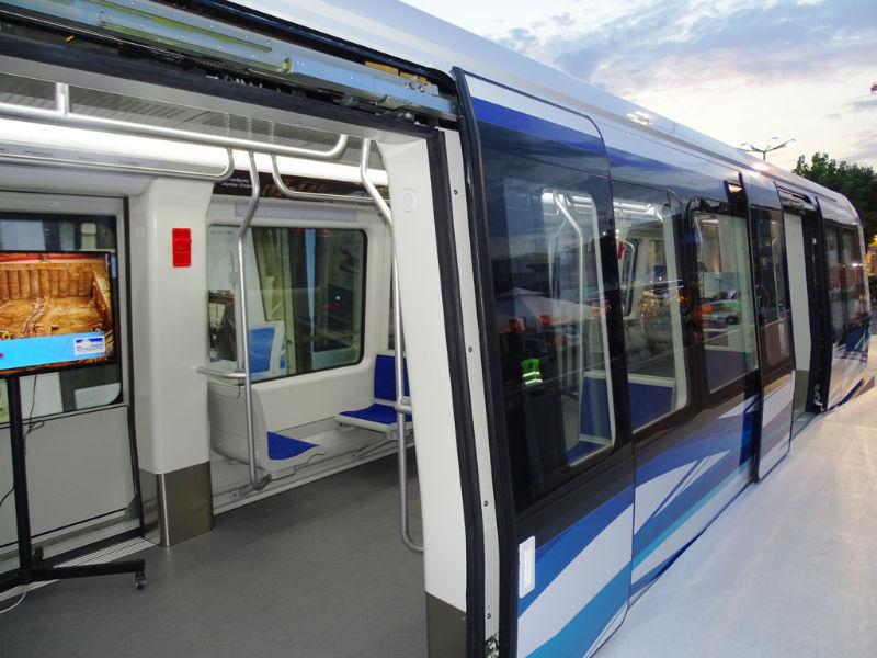 Πρώτος συρμός μετρό, Θεσσαλονίκη