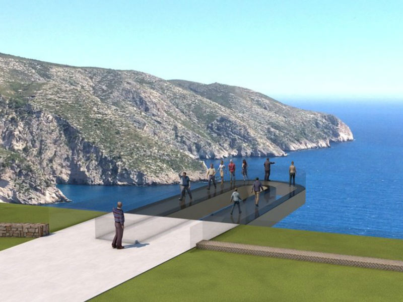 Ζάκυνθος: Θεματικό πάρκο με Skywalk στο Ναυάγιο!