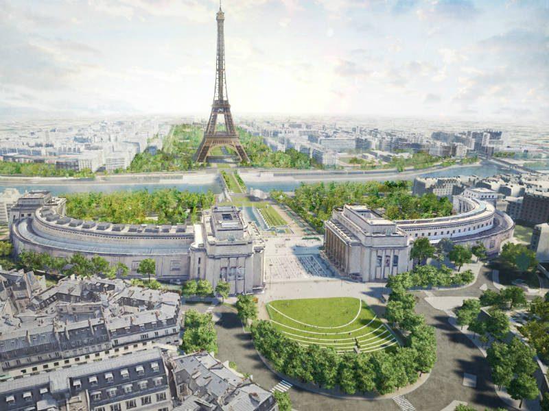 Παρίσι: Ένα εντυπωσιακό νέο πάρκο για τον Πύργο του Άιφελ!