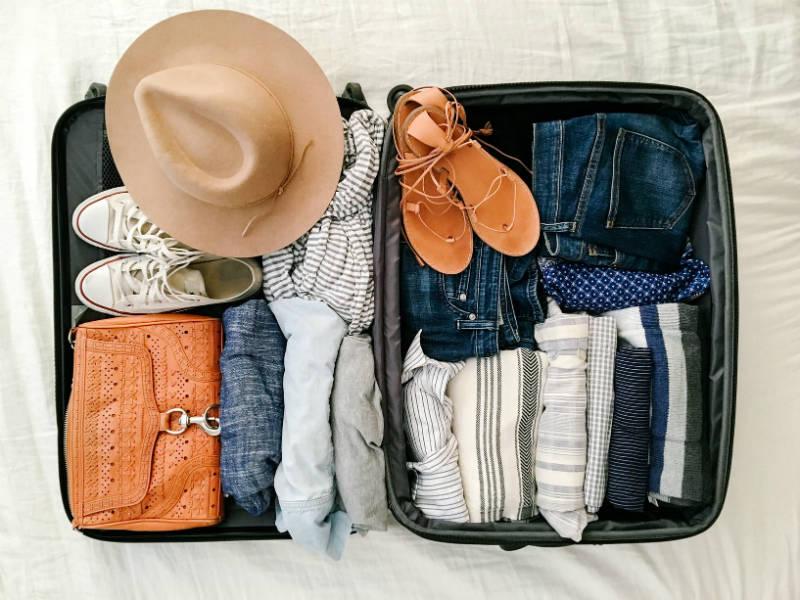 Σωστό πακετάρισμα βαλίτσας
