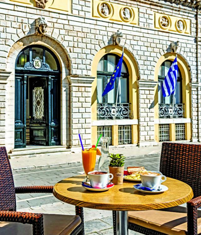 Petrino καφέ Κέρκυρα