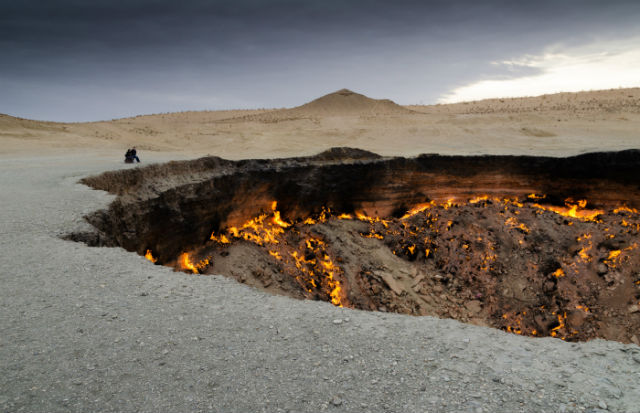 Πύλη της Κολάσεως, Τουρκμενιστάν