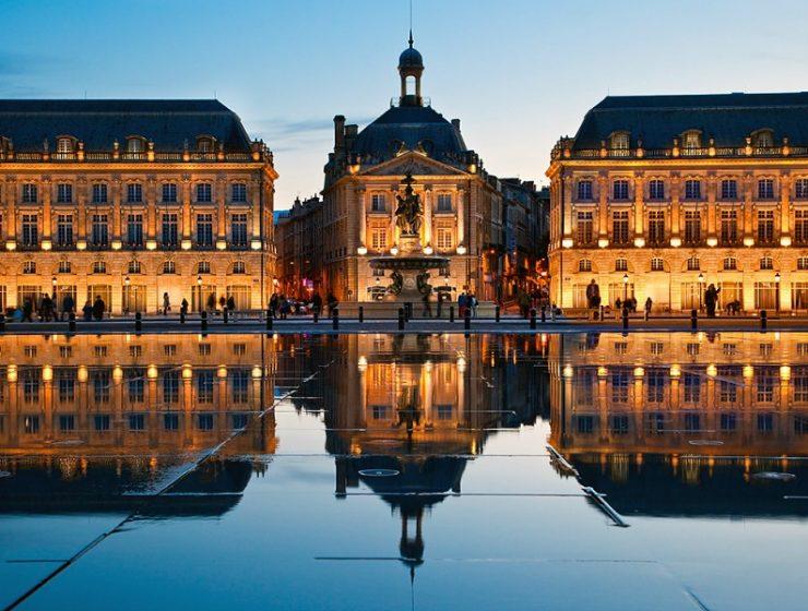 Μπορντώ, ευρωπαϊκές πόλεις