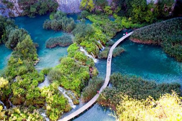 Εθνικό πάρκο λίμνης Πλίτβιτσε, Κροατία