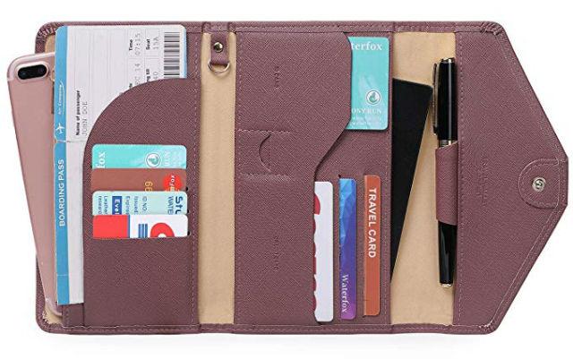 Πορτοφόλι οργάνωσης ταξιδιού