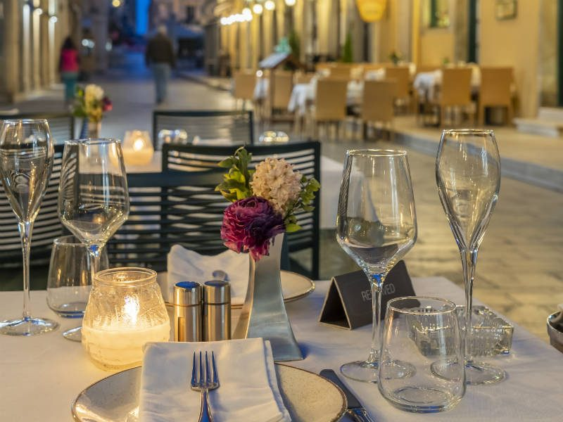 Rex εστιατόριο, Κέρκυρα