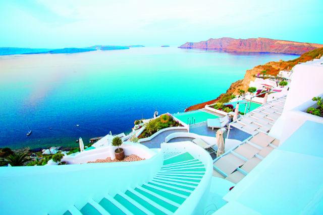 Σαντορίνη, Ελλάδα - θέα