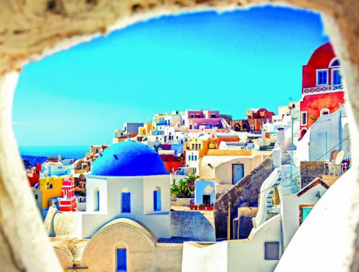 Σαντορίνη, Ελλάδα - ομορφότερη χώρα του κόσμου