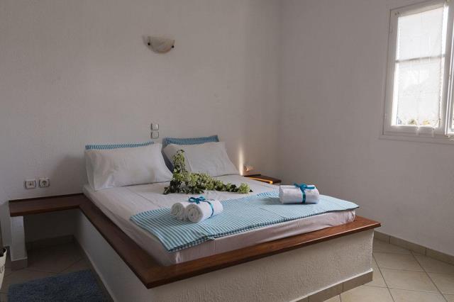 Seaside διαμέρισμα στην Πάρο δωμάτιο