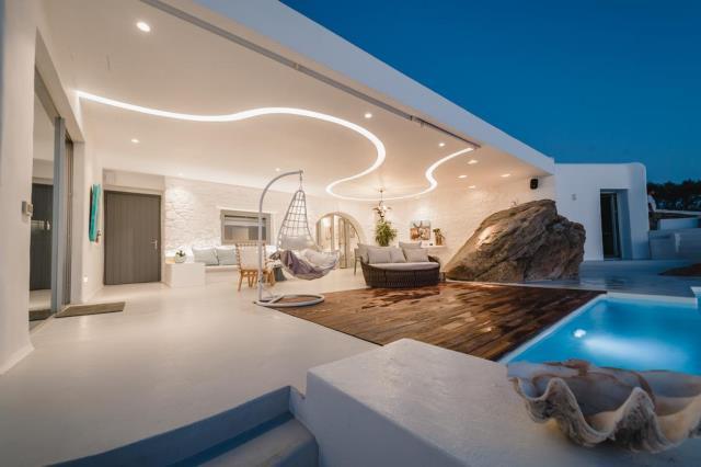 Seawest Villa Mykonos βεράντα