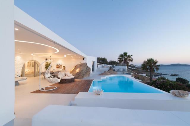 Seawest Villa Mykonos πισίνα